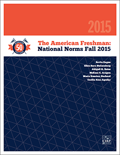 The American Freshman - Norms of 2014